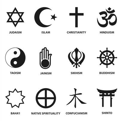 Saltori Showing How To Think - All major religions