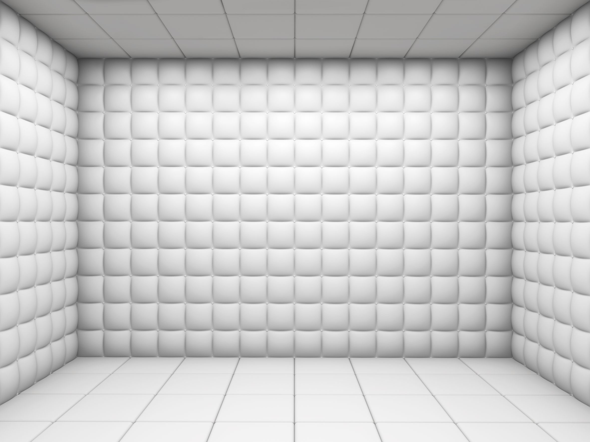 11755382 - white mental hospital padded room empty with copy space